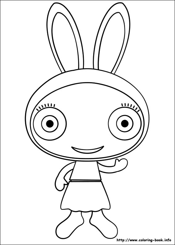 Waybuloo Coloring Picture