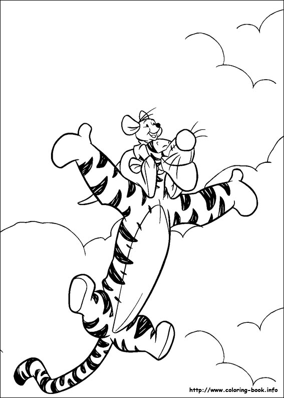 - Winnie The Pooh Coloring Picture