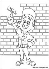 Wreck It Ralph Coloring Pages On Coloring Book Info