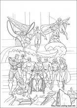 X Men Coloring Page Coloring Pages