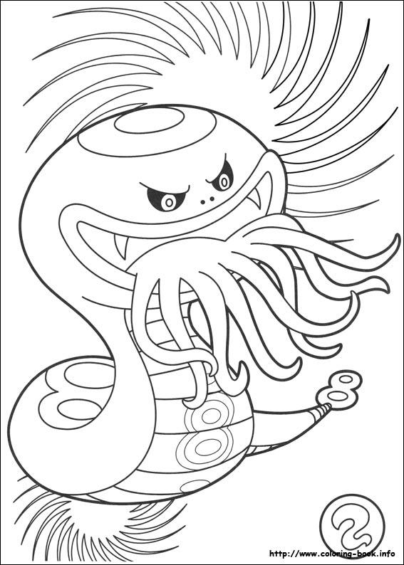 Yo Kai Watch Coloring Picture