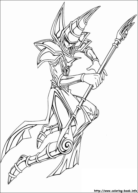 Yu Gi Oh Coloring Pages On Coloring Book Info